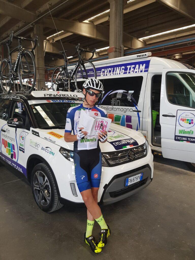 Il faentino Tarozzi al via del Giro d'Italia Under 23