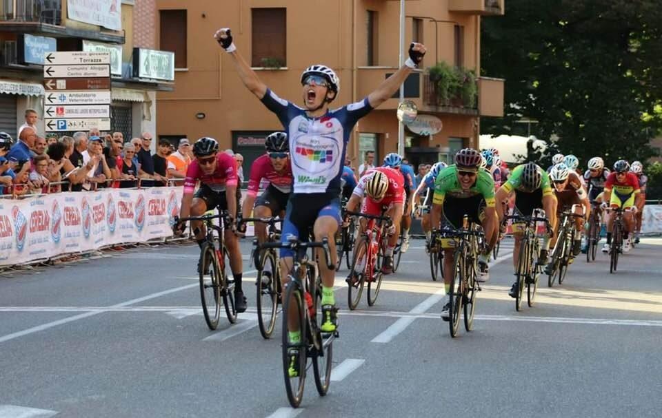 Manuele Tarozzi di nuovo a segno al Piccolo Giro dell'Emilia, terza vittoria di squadra nel 2019