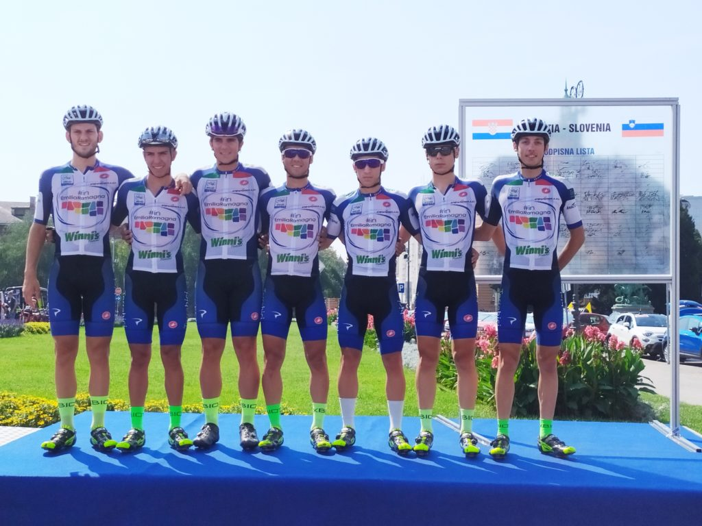 Croazia-Slovenia: un week-end internazionale per #inEmiliaRomagna Cycling Team